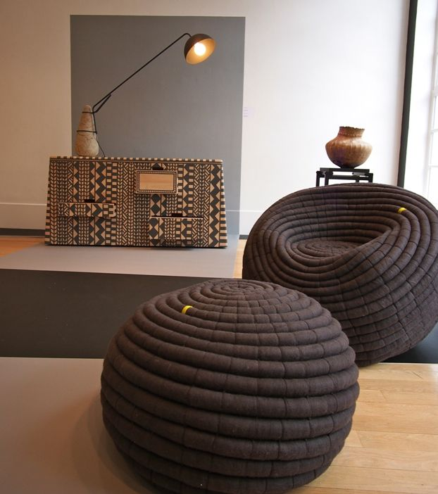 Living Room Decorating Ideas on a Budget - Graphic Africa, part of #LDF 2013 >>http://bit.ly/17d2PRz #Habitat