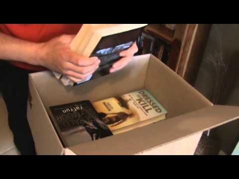 How to pack books for moving house