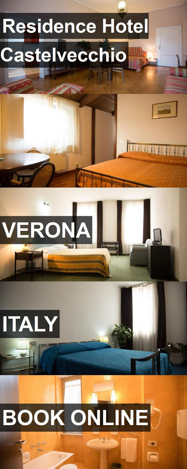 Hotel Residence Hotel Castelvecchio in Verona, Italy. For more information, photos, reviews and best prices please follow the link. #Italy #Verona #hotel #travel #vacation