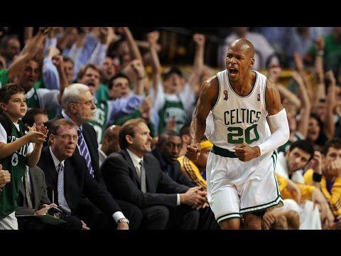 Ray Allen - 2008 NBA Finals Full Highlights vs Lakers (720p HD)