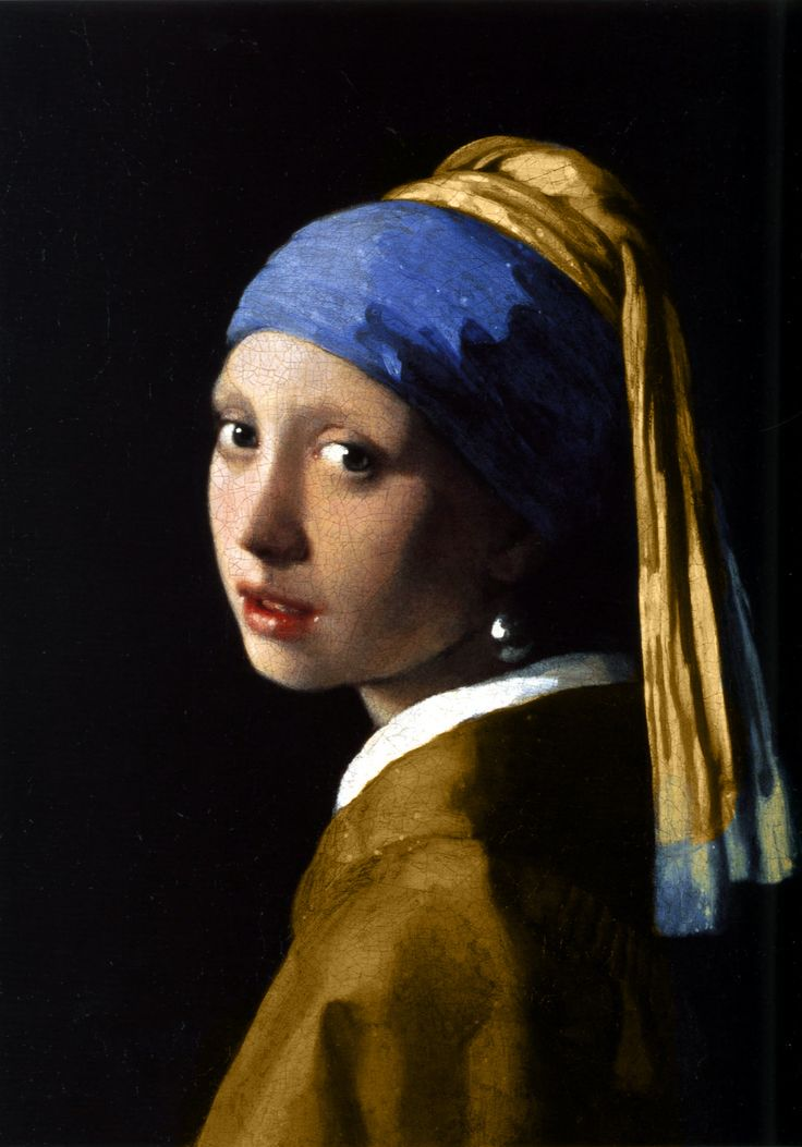 Het Meisje met de Parel, 1665. Mauritshuis.  Girl with a Pearl Earring - Johannes Vermeer One of my fav paintings... ever.