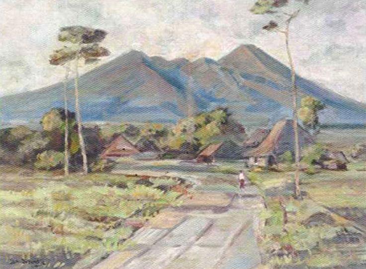 Ernest-Dezentje, -(1885-1972), -Landscape