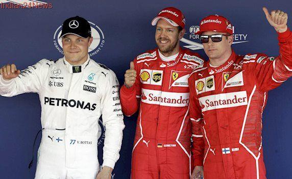 Russian Grand Prix: Ferrari celebrate pole breakthrough