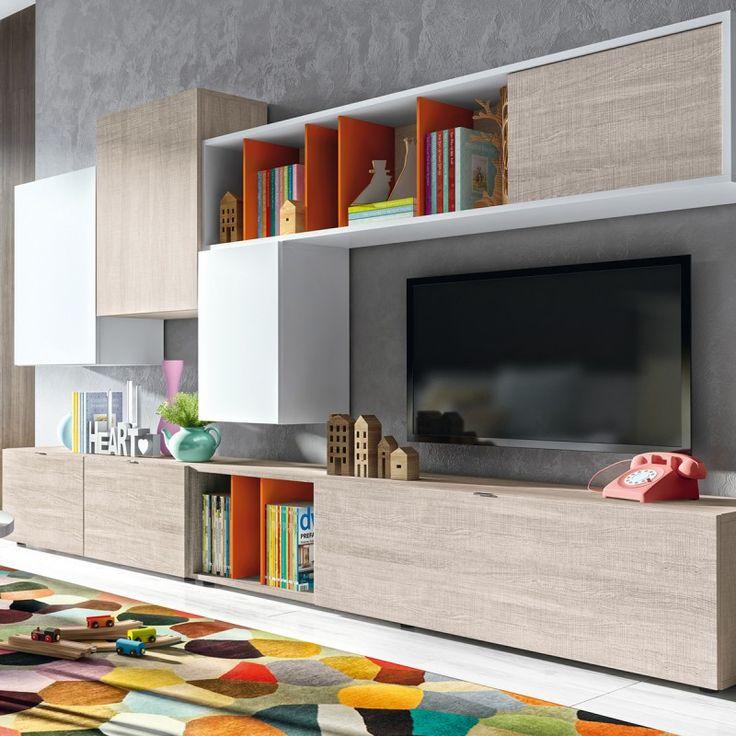Meuble tv mural robin atylia sans le caisson long du haut meuble tv pinte - Ikea meuble tv mural ...