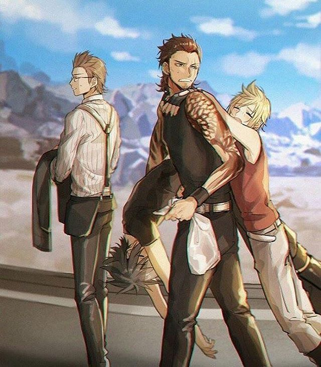 Final Fantasy XV Chocobros