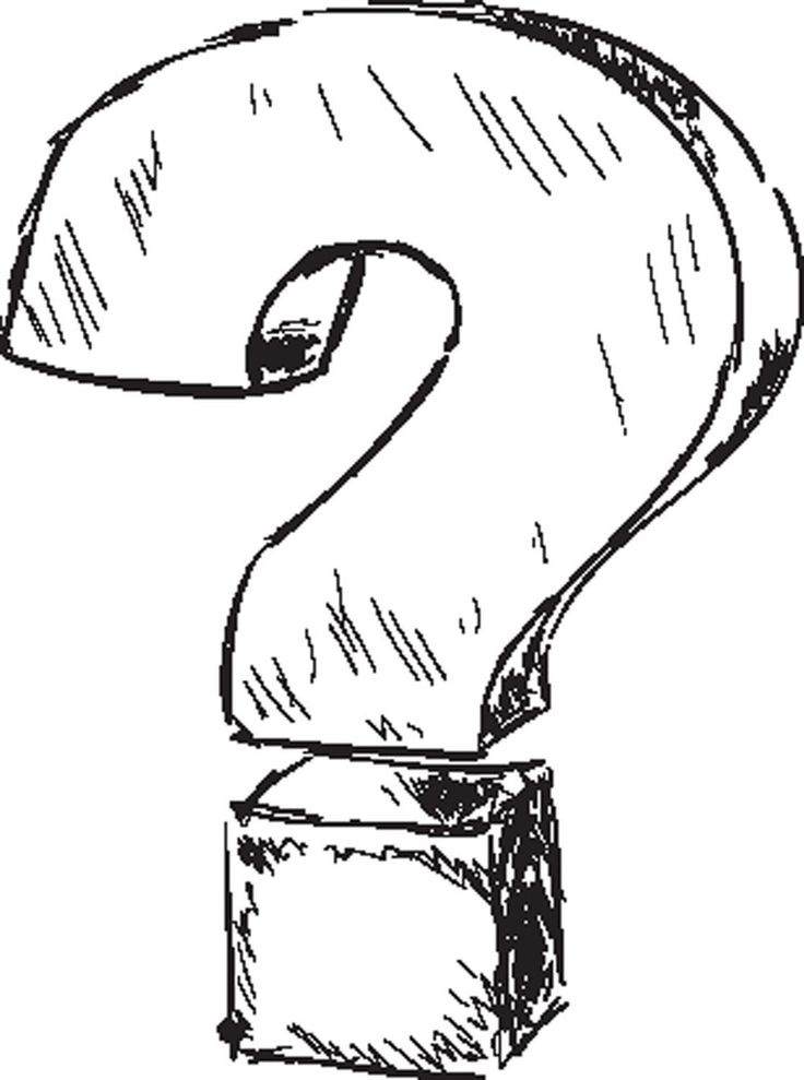 Image Result For Question Mark Drawing This Or That