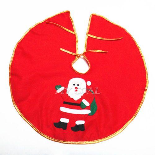 Santa-Claus-Snowman-Christmas-Tree-Skirt-Stands-Ornaments-Xmas-Party-Decoration