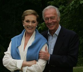 "Julie Andrews and Christopher Plummer 40th anniversary of ""The Sound of Music"""