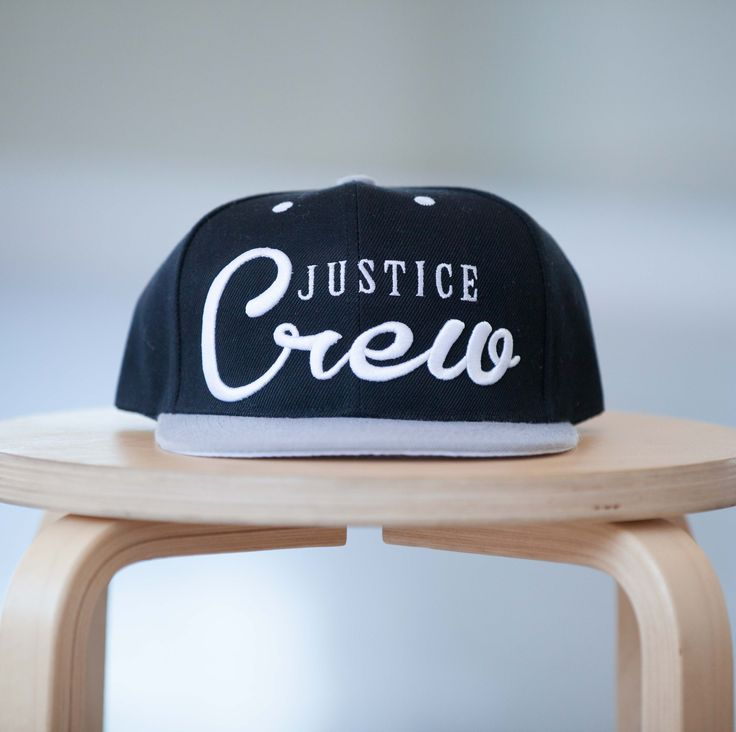 Black Limited Edition Justice crew Snapback