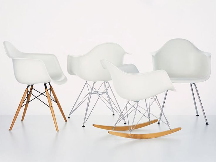 DAX Upholstered chair Eames Plastic Armchair Collection by Vitra design Charles