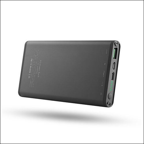 LJASER 12000mAh USB Type C External Battery Charger with USB C to Lightning Cable Fast Charging for Galaxy S8 and S8 Plus