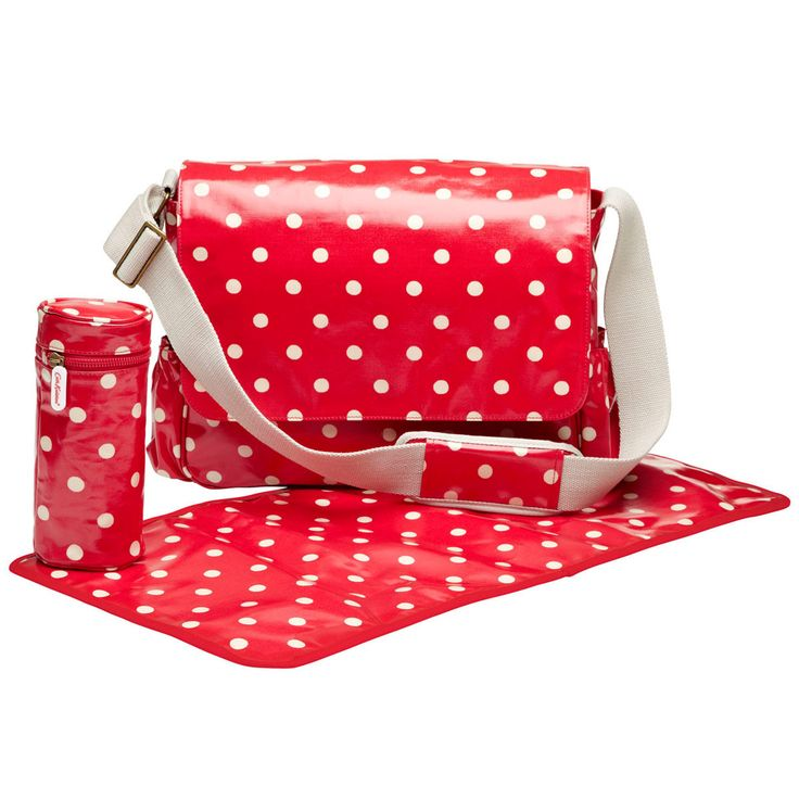 Cath Kidston Christmas - lifestylebycaroline.com Nappy Bag £65