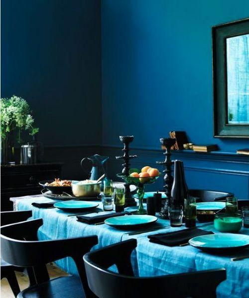17 mejores ideas sobre paredes de color azul oscuro en pinterest ...