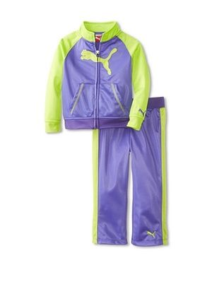 44% OFF Puma Girl's Raglan Cat Tricot Set (Simply Purple)