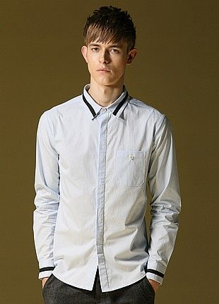 Allin Menswear Shirt-Light Blue