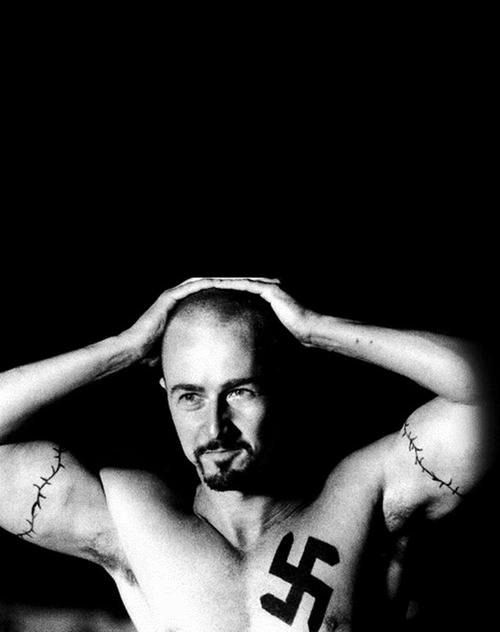 American History X. 1998. all the perfect ingredients for a drama-rama. and the arguments they present for radicalism makes you understand why people think they way they do.