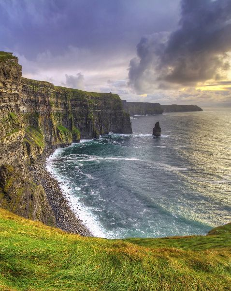 The Most Beautiful Places in Ireland: Cliffs of Moher, Co. Clare More