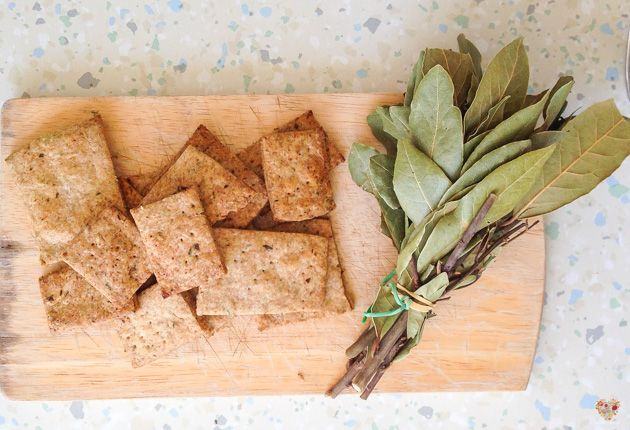 Bizcochitos salados sin levadura, receta sin gluten