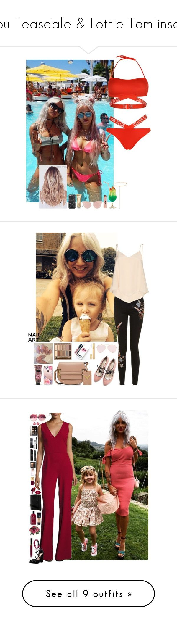 """""""Lou Teasdale & Lottie Tomlinson"""" by ambere3love34 ❤ liked on Polyvore featuring louteasdale, LottieTomlinson, polyvoresets, fashionsets, 2018, Calvin Klein, Charlotte Tilbury, So.Ya, Shay and Elizabeth Arden"""