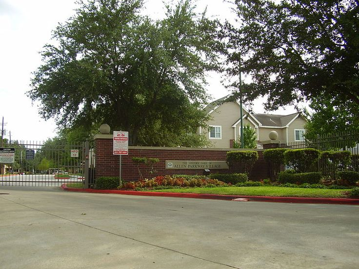 Historic Oaks of Allen Parkway Village Fourth ward