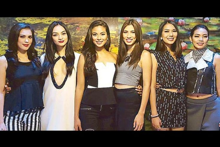 Maxine Medina and Kylie Verzosa attend the celebration party of Aces & Queens record win at Bb Pilipinas 2016