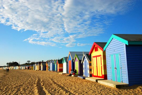 Melbourne's Sea Baths: St Kilda and Brighton http://thingstodo.viator.com/melbourne/melbournes-sea-baths-st-kilda-and-brighton/