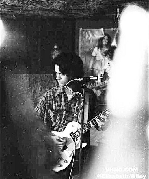 """""""RARE NEVER BEFORE SEEN PIK OF EDDIE VAN HALEN AGE 19 CIRCA SPRING TIME 1974. (I believe that's a poster of Maria """"Midnight at the Oasis"""" Muldaur behind him. Nice potatoes.)"""