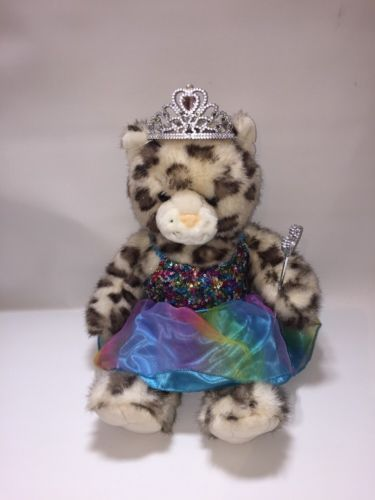 BUILD A BEAR FACTORY RARE SPARKLY SNOW Princess  OUTFIT  retired 2009