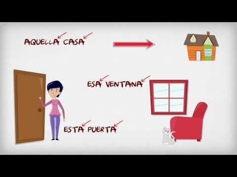 Los demostrativos - Tapas de español | ProfeDeELE.es