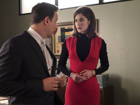 """Josh Charles and Lizzy Caplan in """"Masters of Sex."""""""