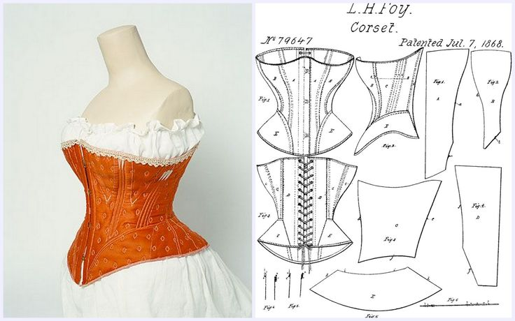 Corset pattern 1868 - Visit to grab an amazing super hero shirt now on sale!