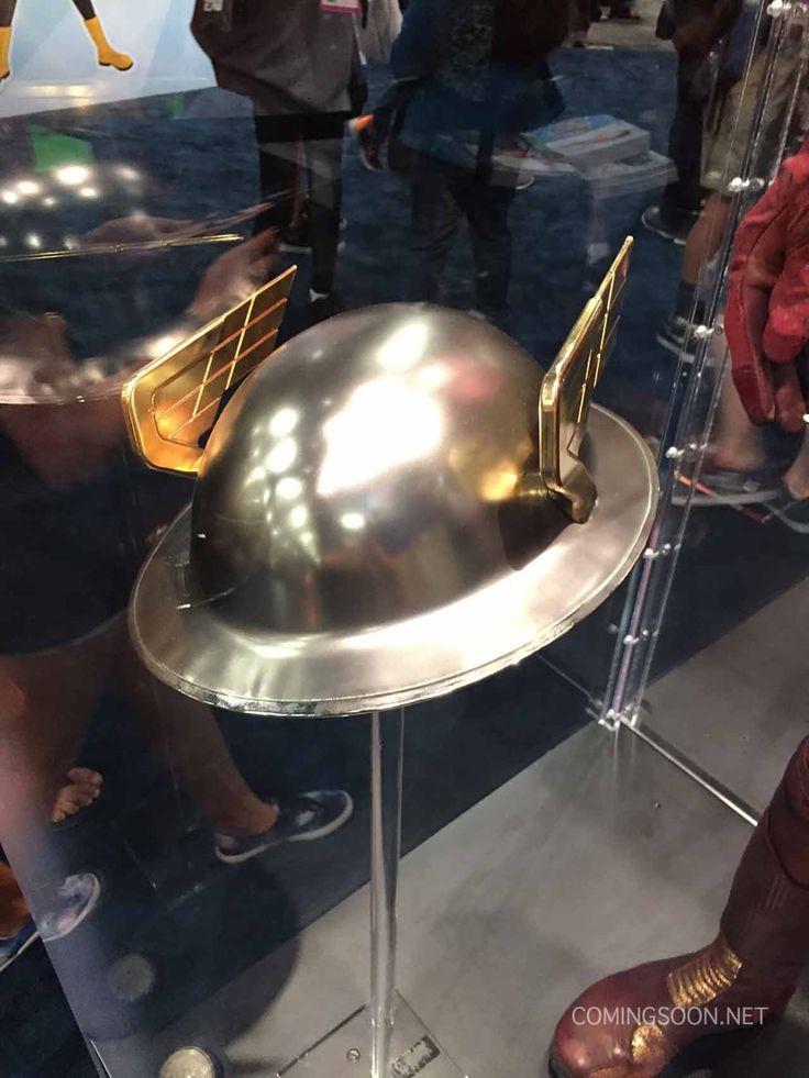 San Diego Comic-Con 2015 Jay Garrick helmet