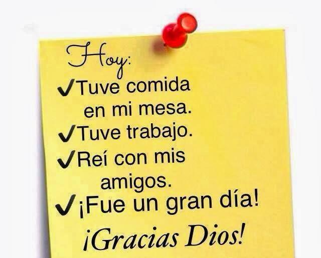 Dar gracias a Dios siempre