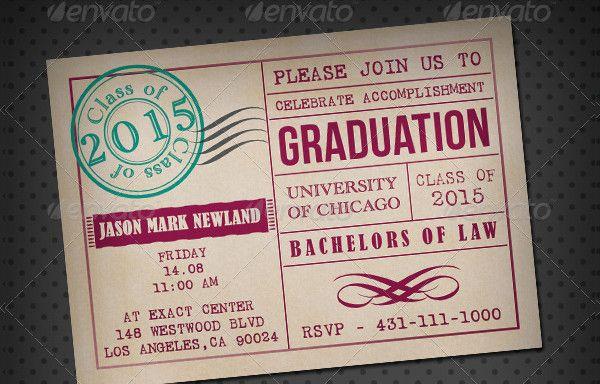 Print Ready Graduation Ceremony Save The Date Template Graduation Card Templates Graduation Invitations Template Graduation Invitation Cards