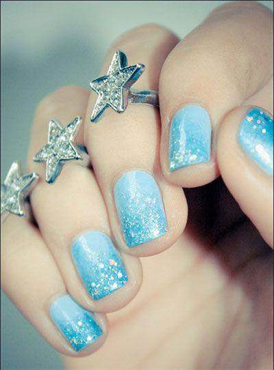 elsa nail art | 15 Disney Frozen Elsa Nail Art Designs Ideas Stickers 2014 Elsa Nails ...