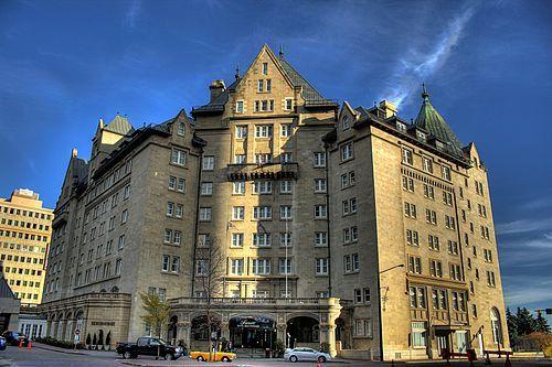 The Hotel Macdonald in downtown Edmonton, Alberta Canada