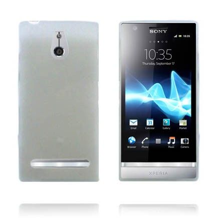 Soft Shell (Läpikuultava Valkoinen) Sony Xperia P Silikonisuojus