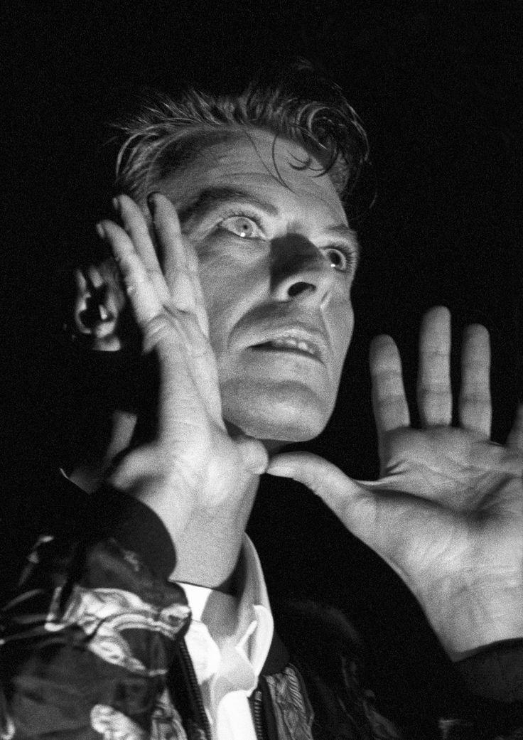 David Bowie in concerto con i Tin Machine a Utrecht, 1991. - (Rob Verhorst, Getty Images)