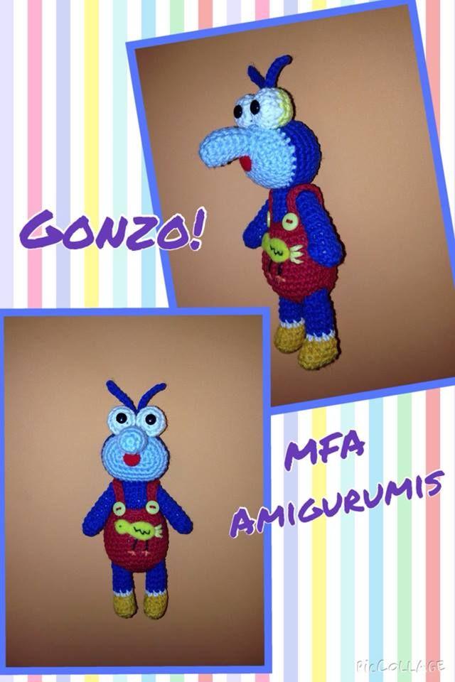 Gonzo  www.facebook.com/MFAAmigurumis