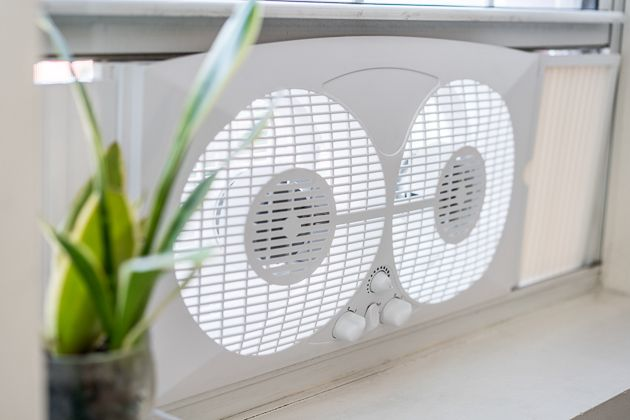 """If you need a window fan that can bring in cool air at night or extract hot air out of a kitchen window, you won't find a better-equipped fan for the price than the Pelonis 9"""" Twin Window Fan. Afte…"""