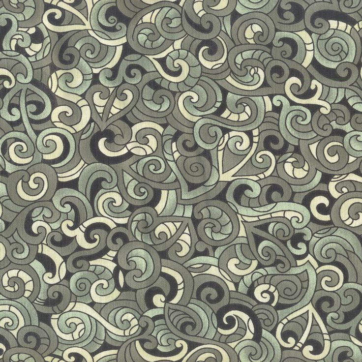 New Zealand Maori Moko Green Quilting Fabric - Find a Fabric.  Available to purchase in Fat Quarters, Half Metre, 3/4 Metre, 1 Metre and so on.