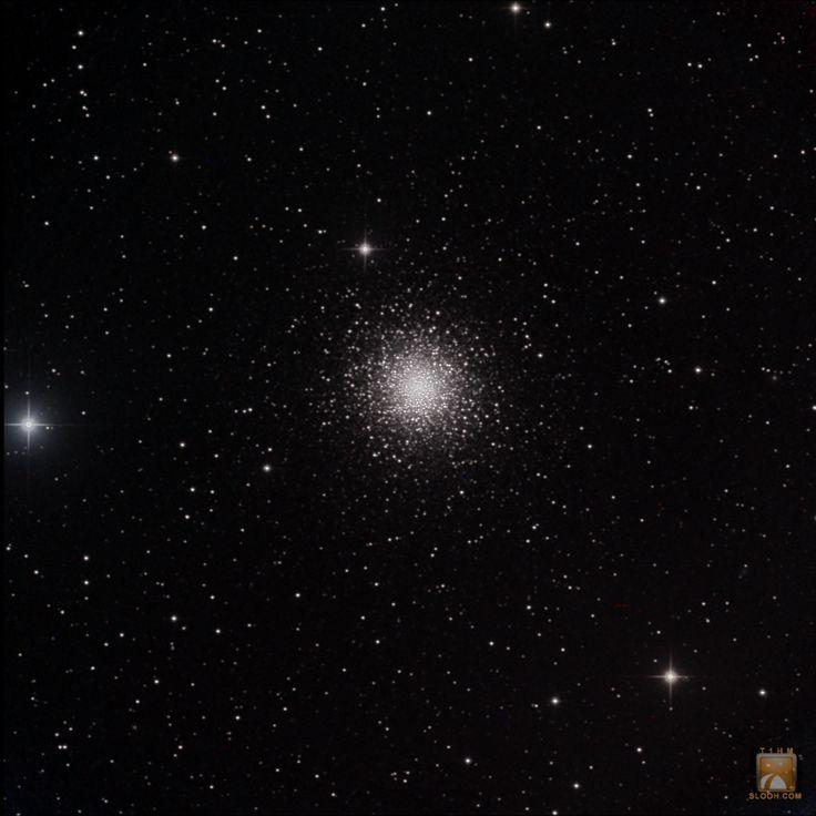 Globular Cluster M15 in the Constellation of Pegasus through the 20''