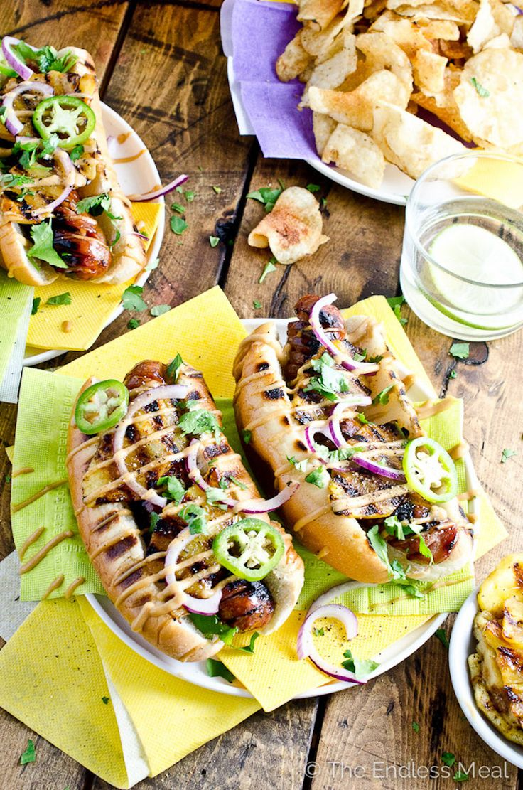 20 Gourmet Ways to Makeover a Hot Dog, or just add chili sauce to your favorite combo!