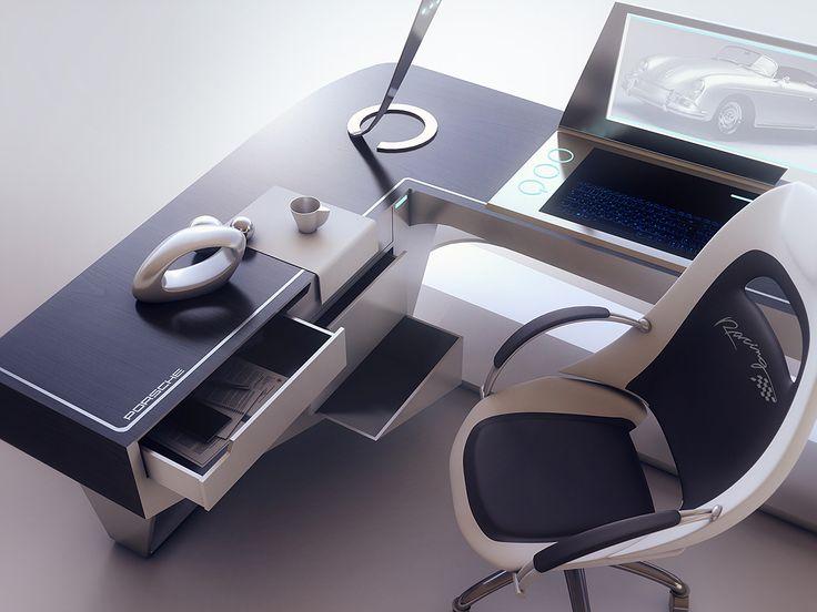 Modern Desk Design By Encho Enchev
