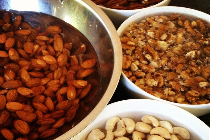 Activating nuts & seeds. The what, the why and the how. how long o soak