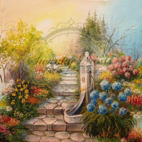 Into The Garden - Oz Backdrops and Props