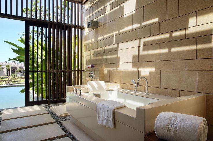 Bathroom at Ritz Carlton Nusadua