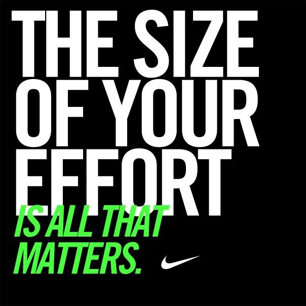 It all begins with the decision to try. #motivation #inspiration #nike