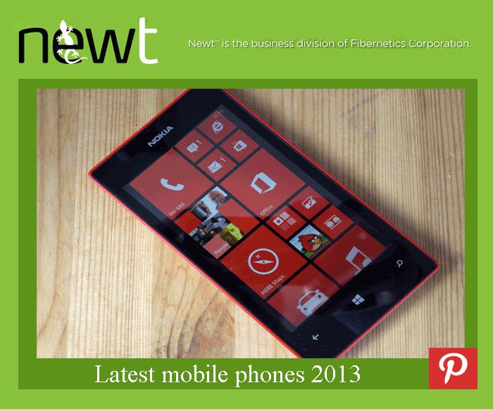 Latest mobile phones 2013 NEWT™, the business services division of Fibernetics, provides high-value telecommunications saving businesses up to 80% on their current telecom costs. #BusinessFibernetics
