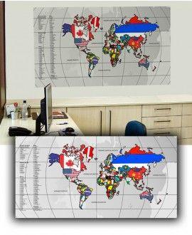 Mapa Interativo - Bandeiras